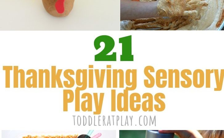 21 Thanksgiving Sensory Play Ideas