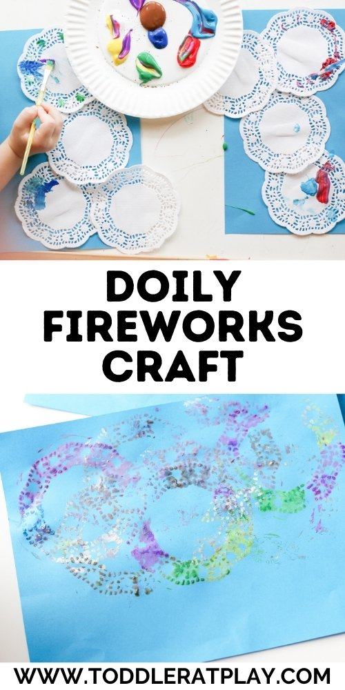 doily fireworks craft - toddler at play (2)