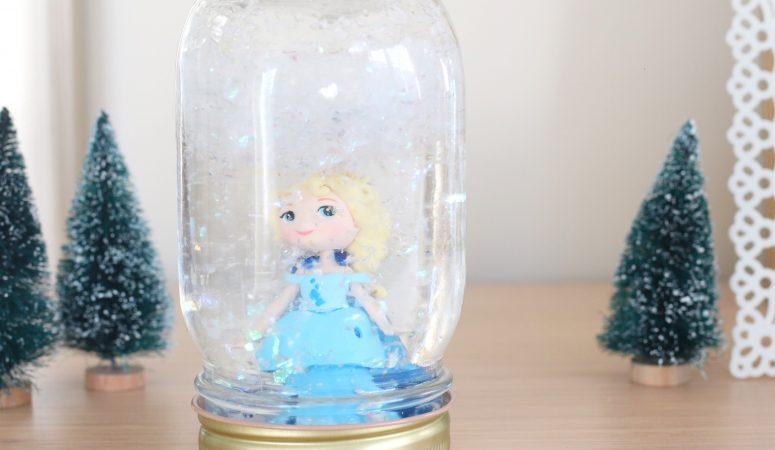 Elsa Snowglobe Craft (Quick Video Tutorial)