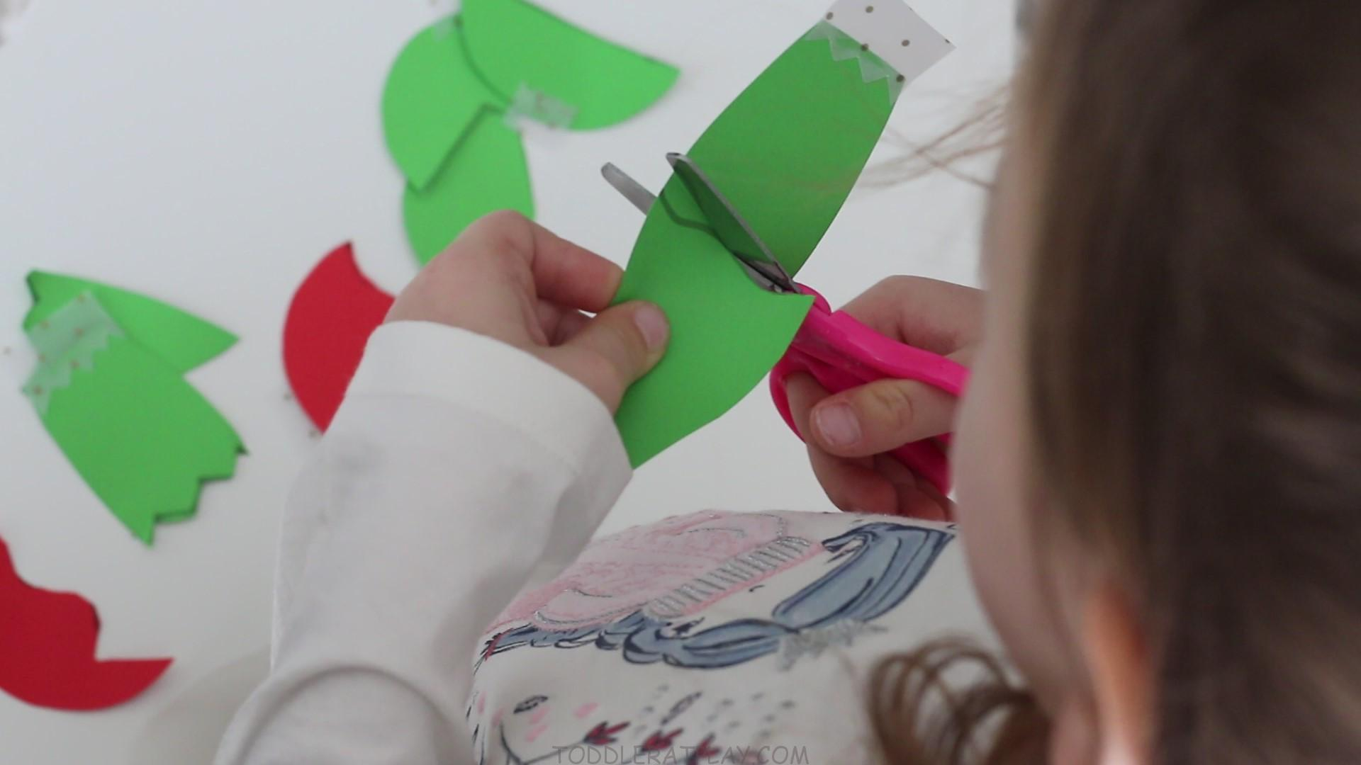 Ornament Cutting Activity