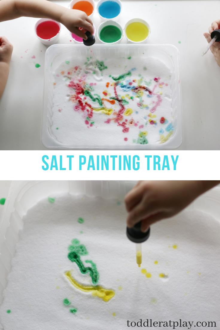salt painting tray- toddler at play (2)