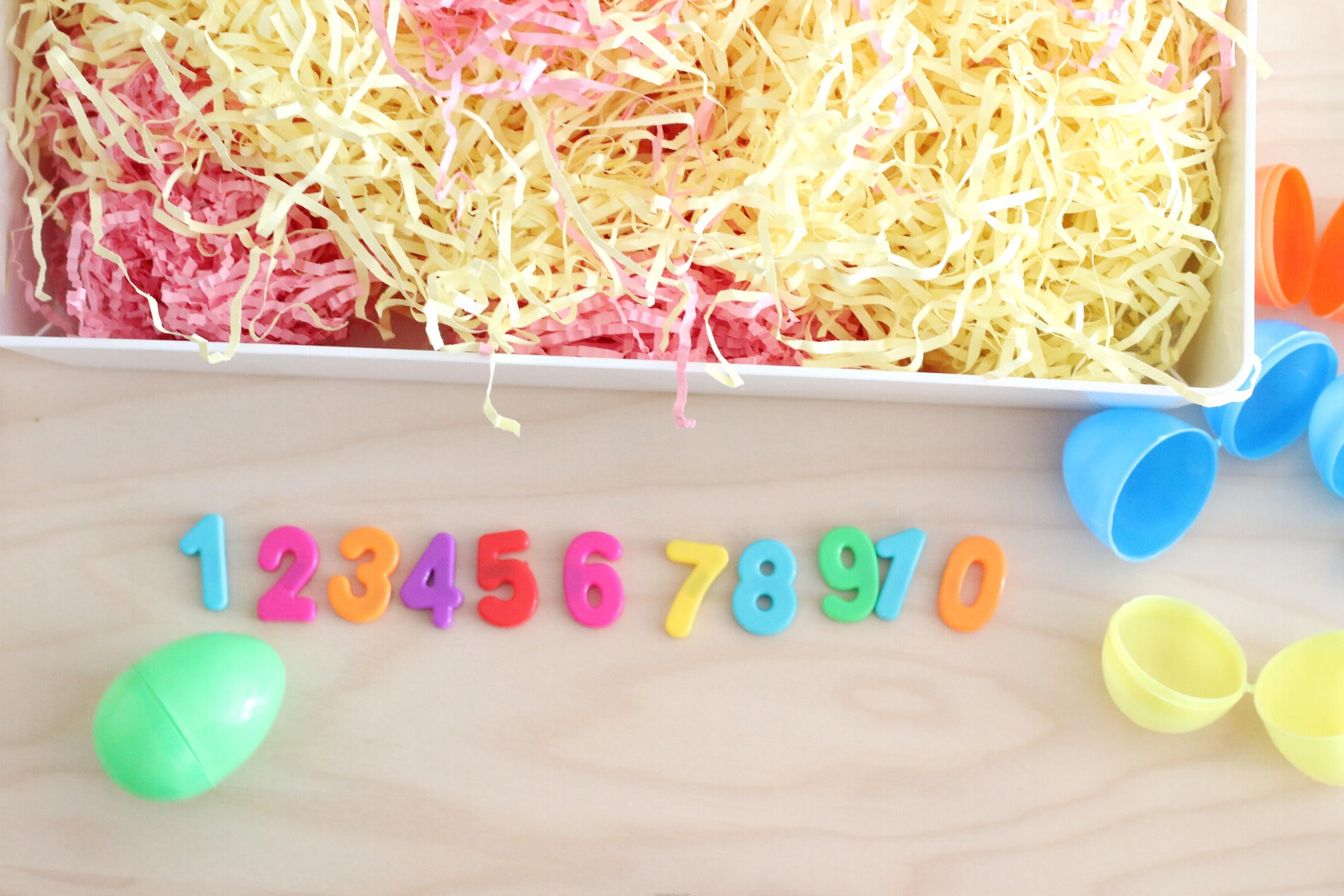 Easter Egg Number Hunt (Quick Tutorial)