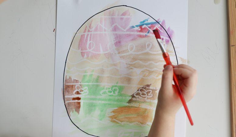Secret Easter Egg Art Craft (VIDEO)