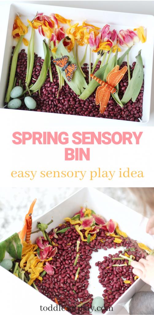 spring sensory bin- toddler at play (5)