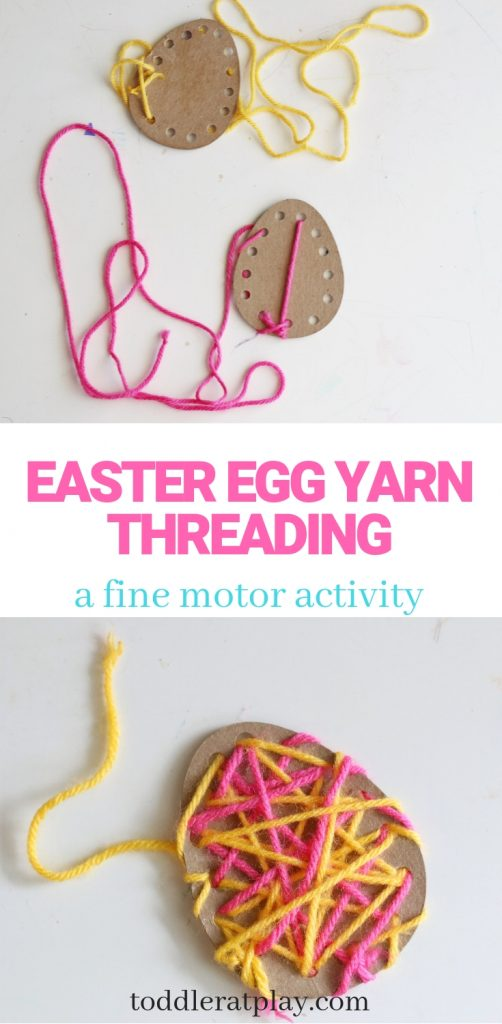 easter egg yarn threading- toddler at play (16)