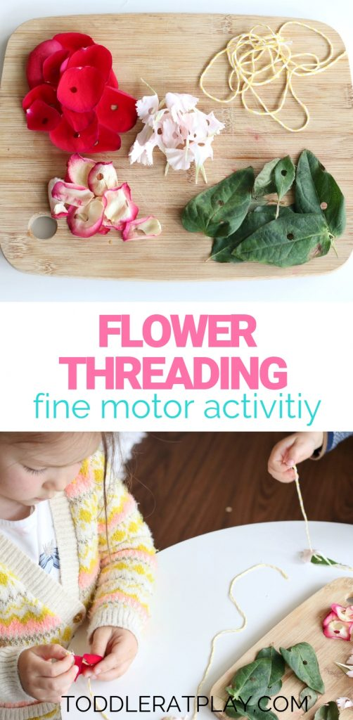 flower threading activity- toddler at play (1)
