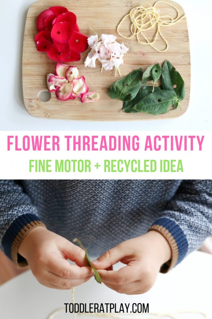 flower threading activity- toddler at play (6)