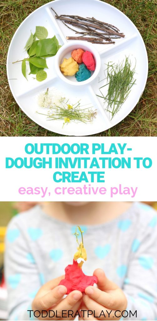 outdoor play-dough invitation to create- toddler at play (8)