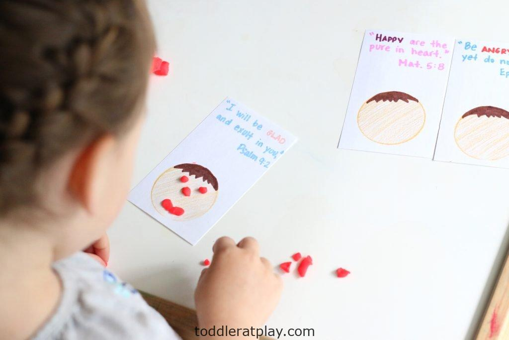 play-dough emotions with bible verses- toddler at play (10)