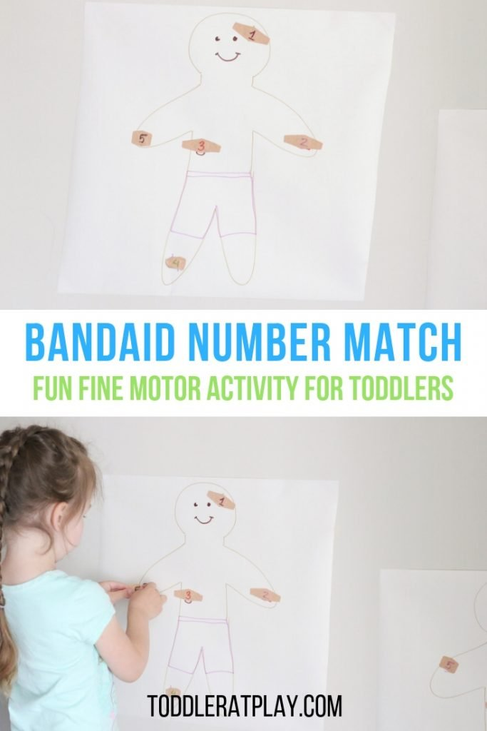 bandaid number match- toddler at play (12)