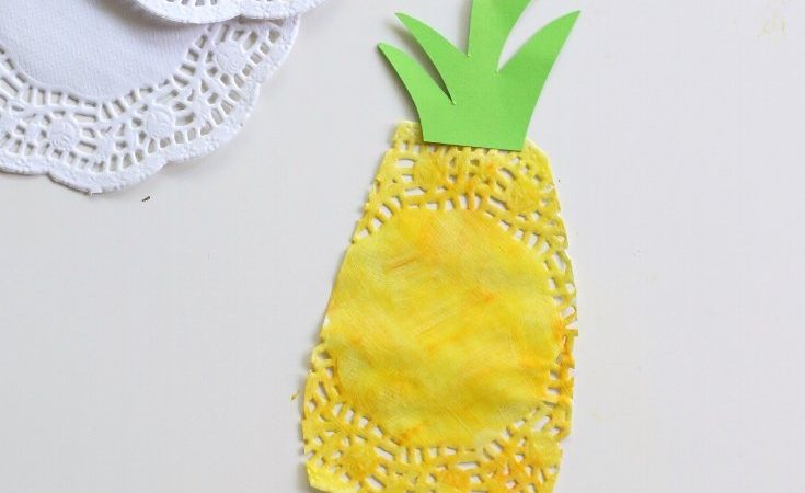 Doily Pineapples Craft