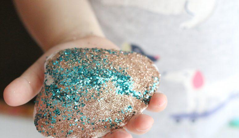 Glittery Seashells Craft