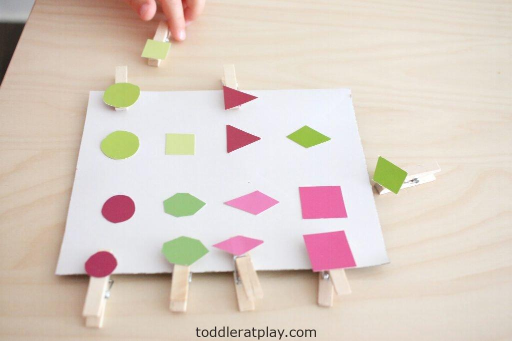 paint swatch shape match- toddler at play (13)