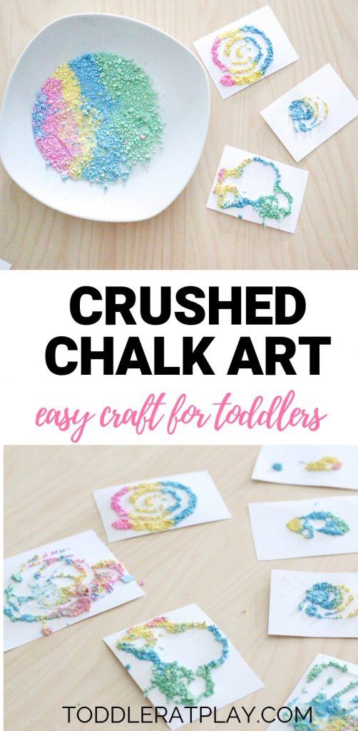 crushed chalk art- toddler at play (1)