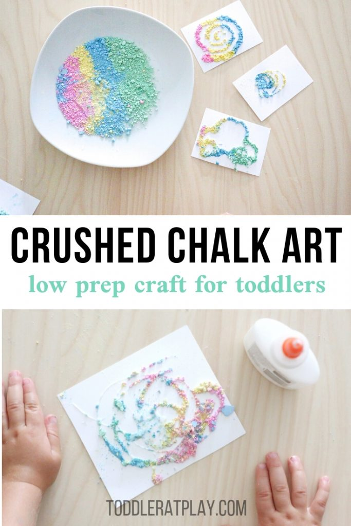 crushed chalk art- toddler at play (16)