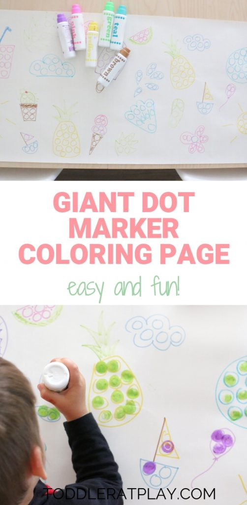 giant dot marker coloring page- toddler at play (9)