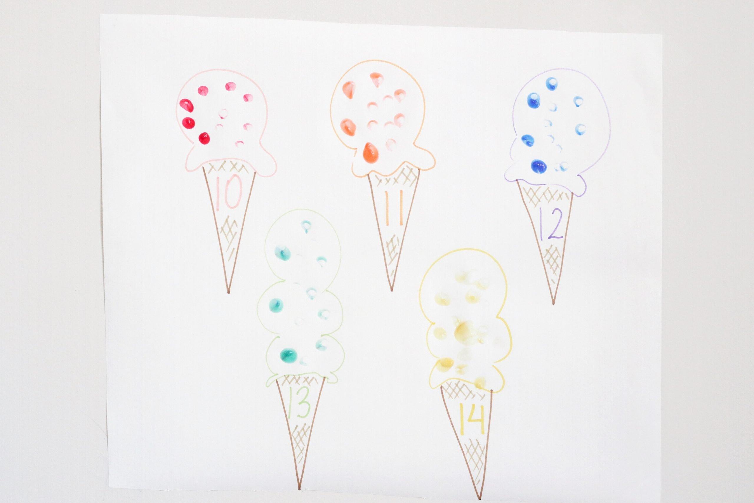 Ice Cream Sprinkles Count