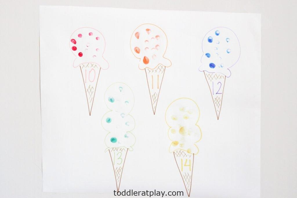 ice cream sprinkles count- toddler at play (1)