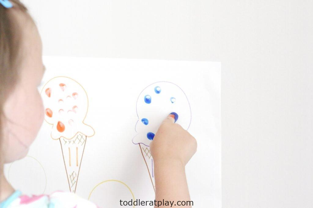 ice cream sprinkles count- toddler at play (10)