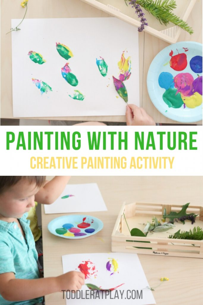 painting with nature- toddler at play (14)