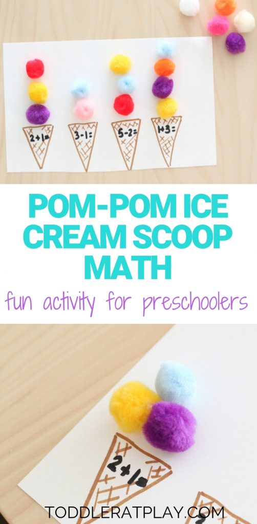 pom-pom ice cream scoop math- toddler at play (6)