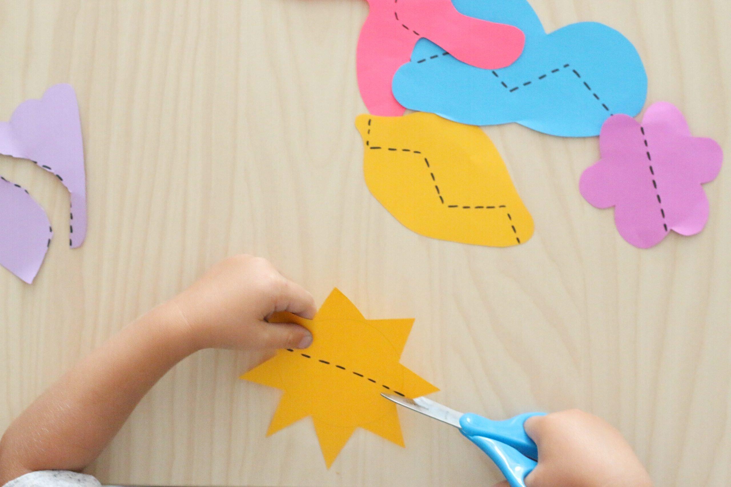 Summer Scissor Skills Activity