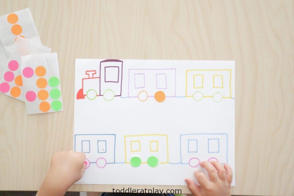 dot sticker train match- toddler at play (13)