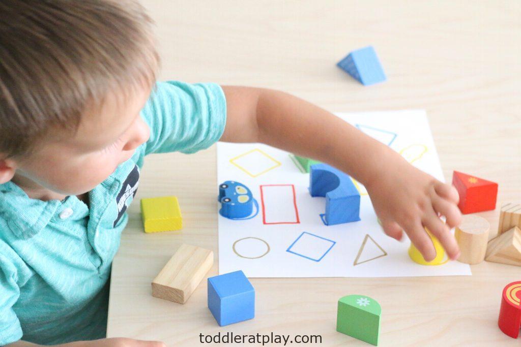 wooden blocks match- toddler at play (13)