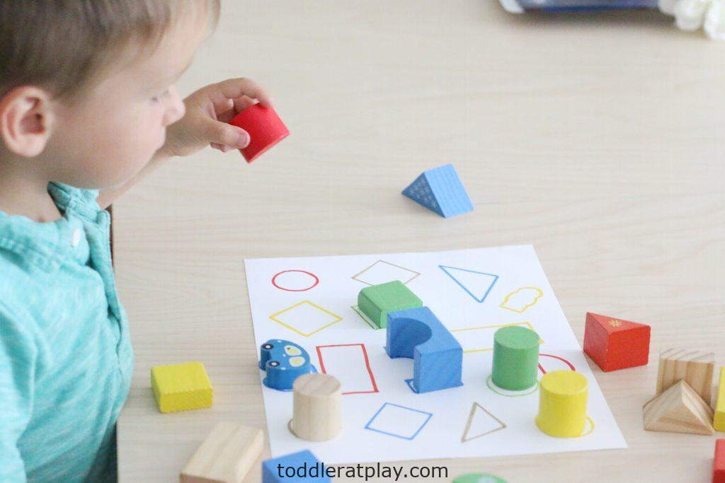 wooden blocks match- toddler at play (9)