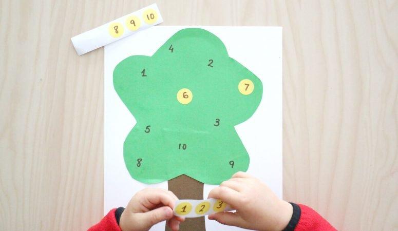 Apple Tree Number Match