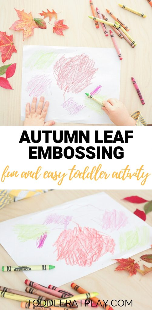 autumn leaf embossing- toddler at play (9)