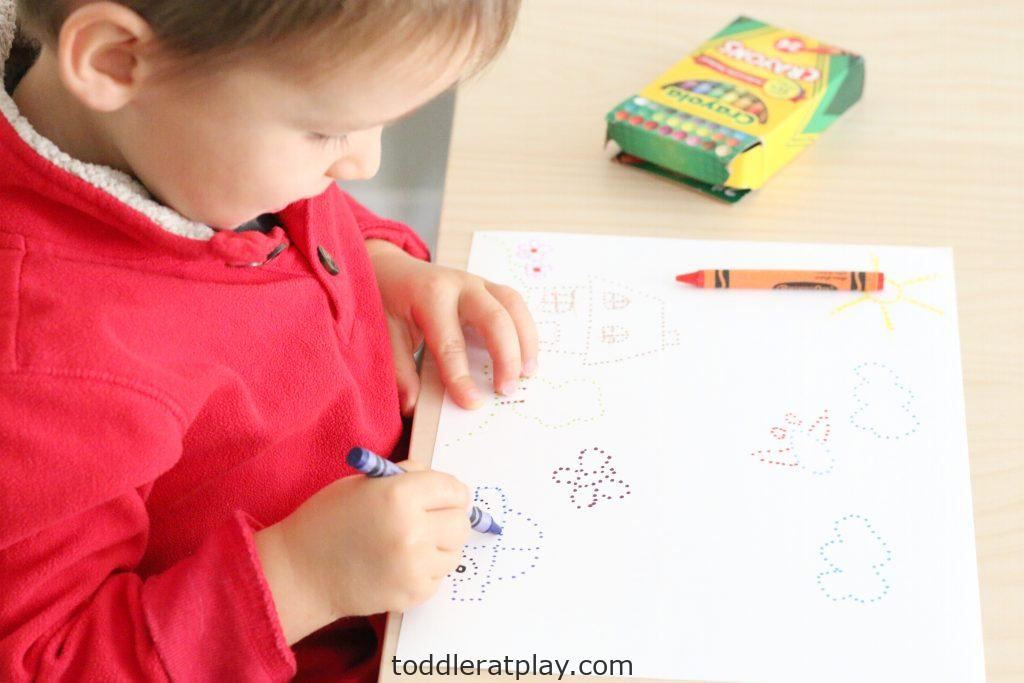 connecting the dots art- toddler at play (3)