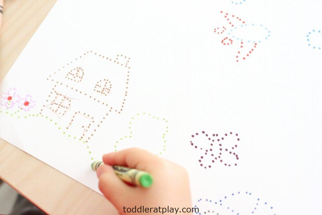 connecting the dots art- toddler at play (8)