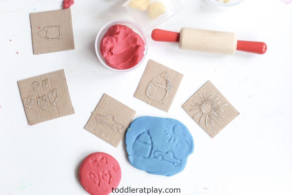 diy play-dough stamps- toddler at play (4)