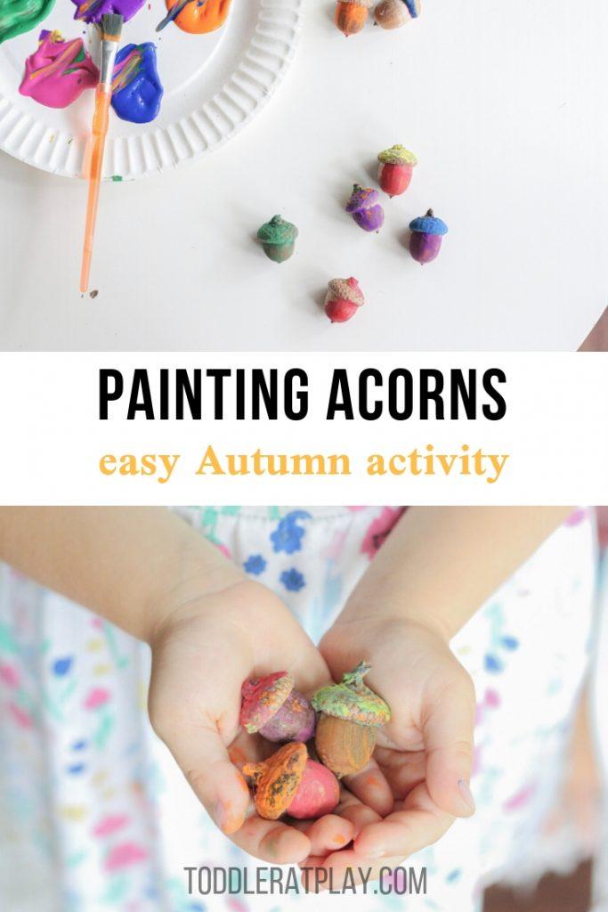 painting acorns- toddler at play (18)