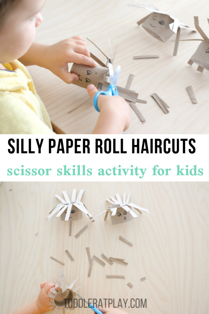 silly paper roll haircuts- toddler at play (1)