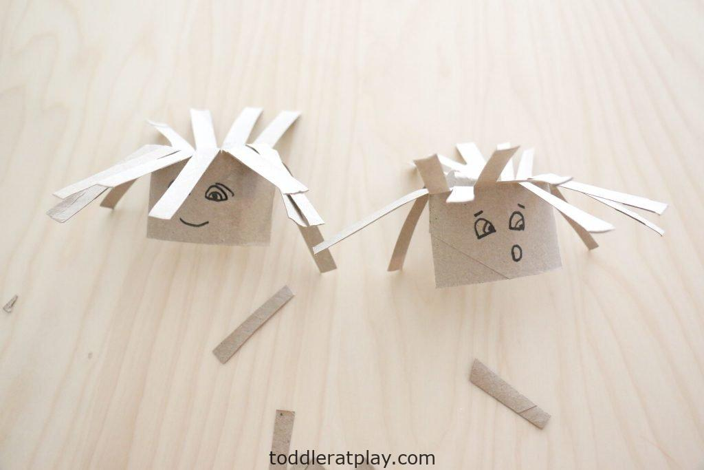 silly paper roll haircuts- toddler at play (2)