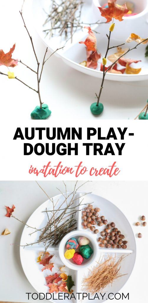 autumn play-dough invitation to create- toddler at play (5)