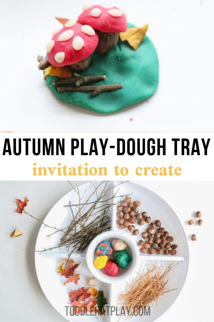 autumn play-dough invitation to create- toddler at play (6)