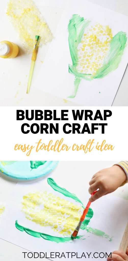 bubble wrap corn craft- toddler at play (17)