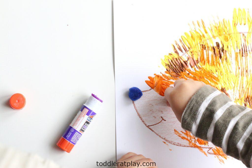fork stamped hedgehog- toddler at play (15)