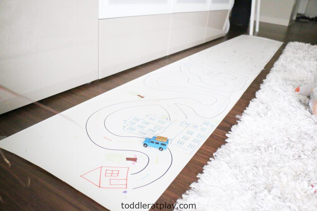giant road map- toddler at play (10)