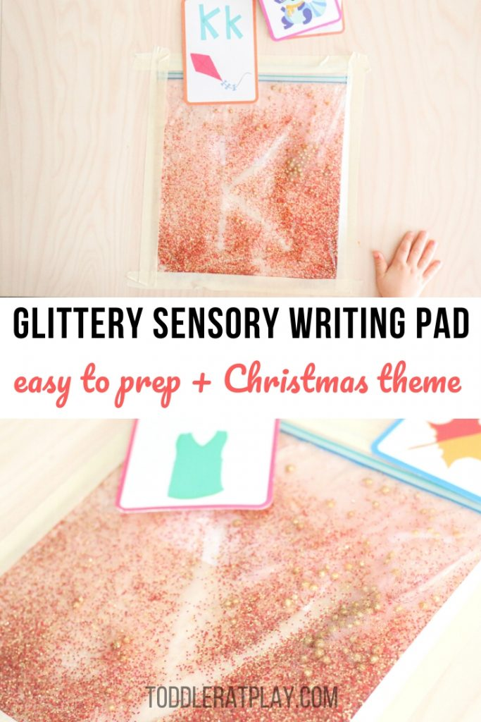 glitter sensory writing pad- toddler at play (1)