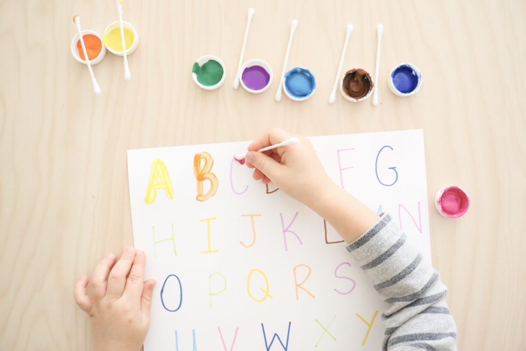 q-tip letter tracing- toddler at play (1)