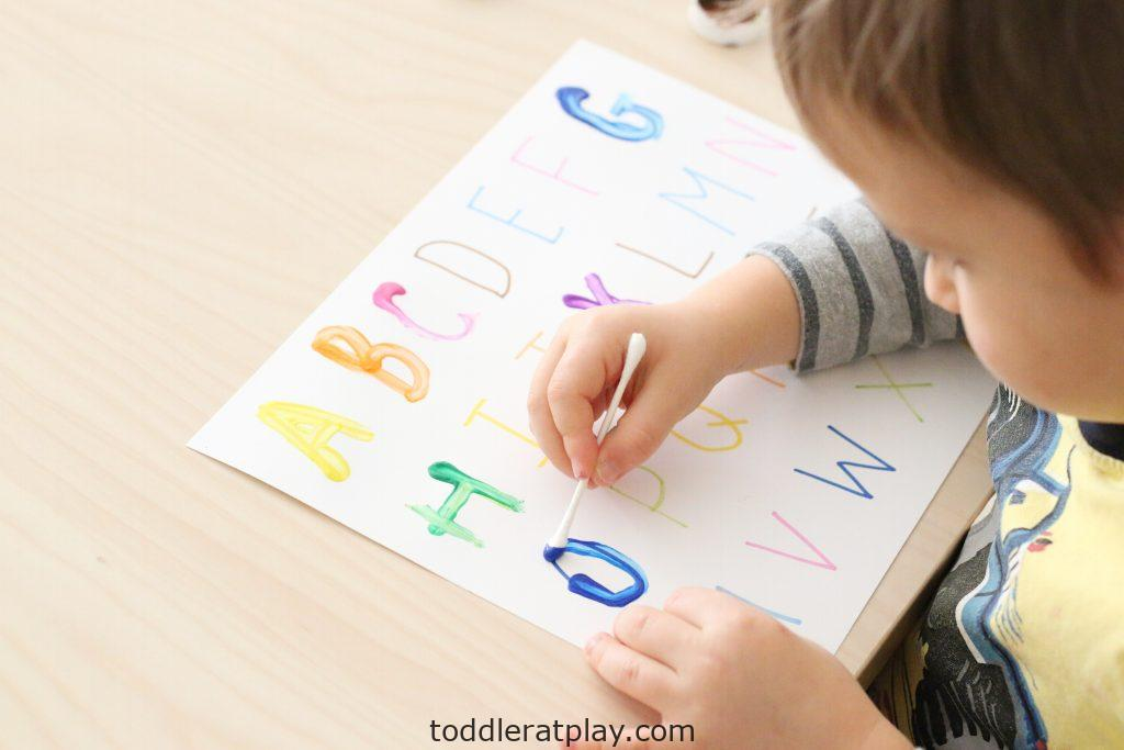 qtip letter tracing- toddler at play (2)
