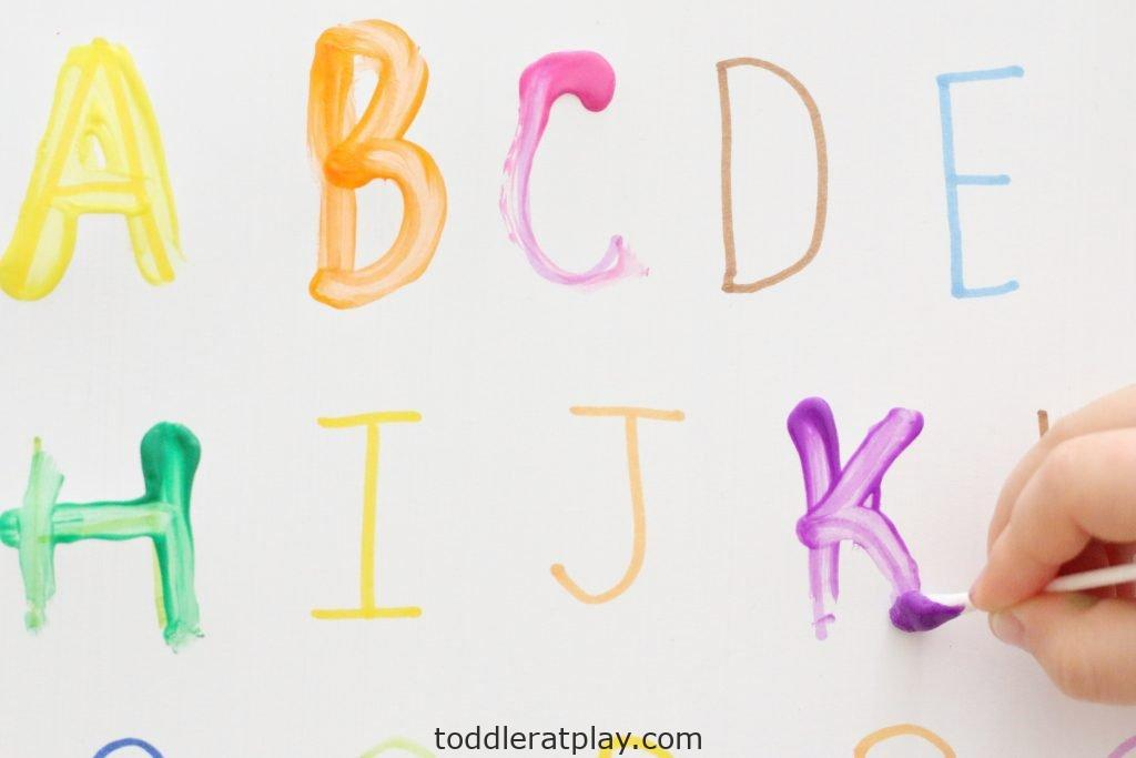 qtip letter tracing- toddler at play (3)