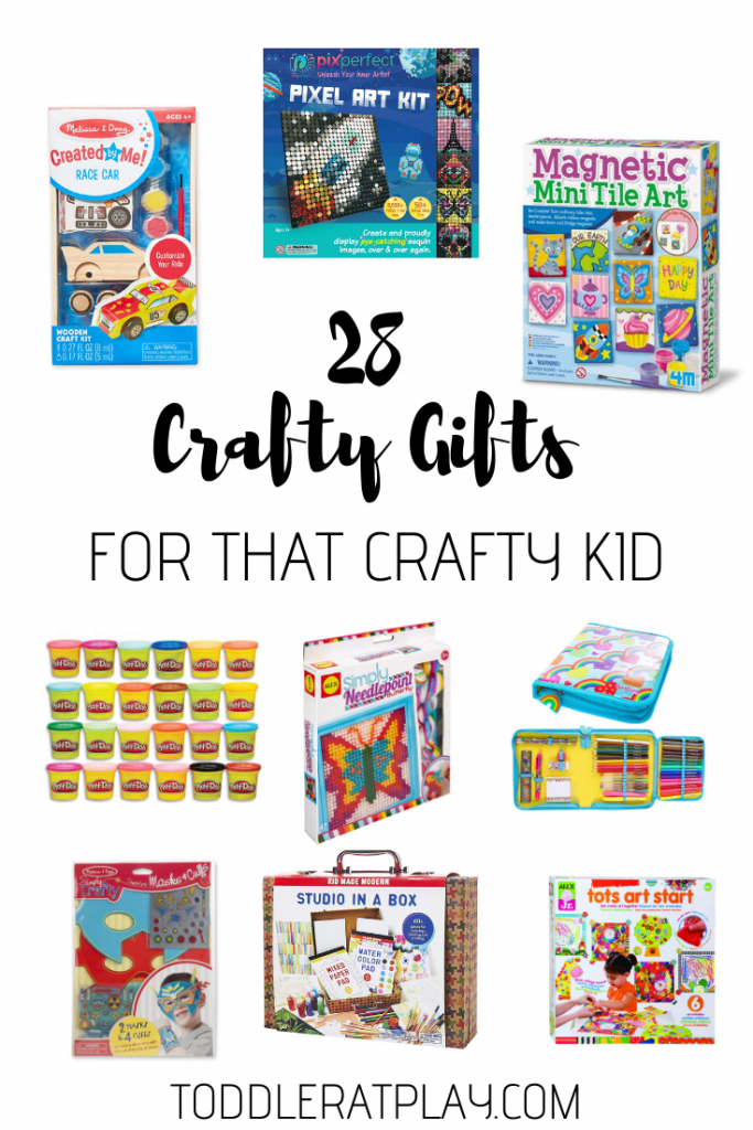 28 crafty gifts for that crafy kid