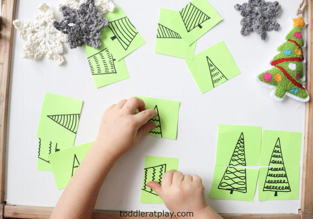 christmas tree puzzles- toddler at play (11)