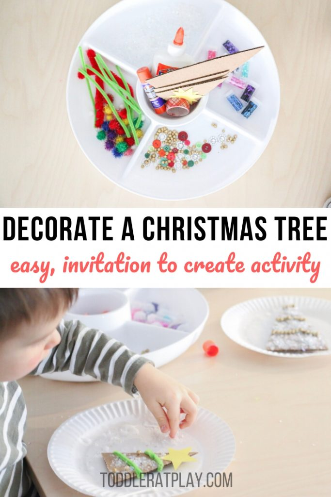decorate a christmas tree tray- toddler at play (1)