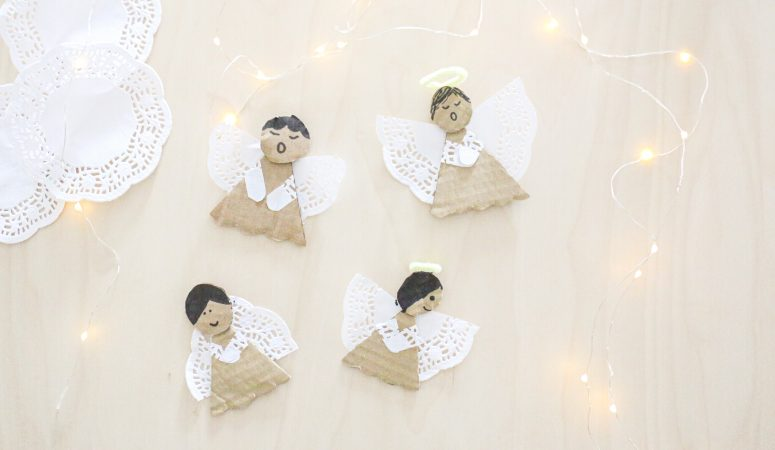 Doily Angels Craft
